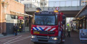 22 februari Brandweer rukt uit voor brand bij lunchroom Veerplein Vlaardingen