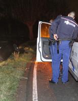 13 januari  Auto te water na inhaalactie Schiedam
