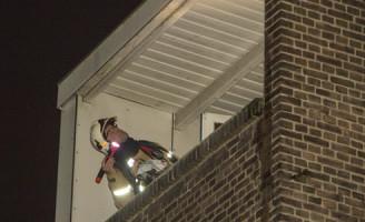 21 december Kleine brand op balkon Schiedam