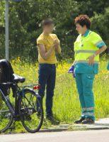 16 mei Scholier gewond bij aanrijding Zwanensingel Vlaardingen