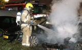 22 april Wederom auto in brand gestoken Gelderlandlaan Vlaardingen