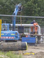 14 juni Flinke gaslucht bij sportcentrum Lepelaarsingel Vlaardingen