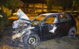 24 juli Auto gestript en in brand gestoken Johan Braakensiekstraat Schiedam