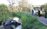 23 april  Auto te water geraakt Groeneweg Schiedam