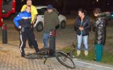 6 februari Kind met voet vast tussen fietsspaken Vlaardingen