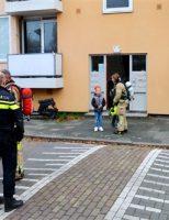 16 november Brandweer gestrikt bij woningbrand Goudsbloemstraat Vlaardingen