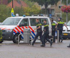 17 augustus Politie houdt persoon aan met getrokken pistool v. Hogendorplaan Vlaardingen