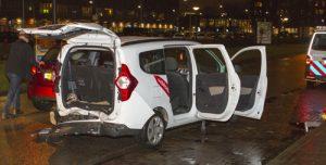 29 januari Flinke schade bij kop-staart aanrijding Hogendorplaan Vlaardingen