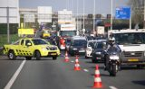 19 april Flinke file na ongeval op de A20 Schiedam
