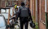 11 september Aanhouding na inval arrestatieteam Tollensstraat Schiedam