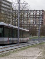 25 februari Trams gestremd door plastic in bovenleiding Vlaardingen