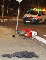 27 maart Man gewond na steekpartij Rotterdam