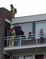 11 september Vlam op dak blijkt zonschittering ventilator Vlaardingen