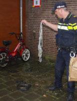 30 mei Politie onderzoekt brandstichtingen bij flat Vlaardingen