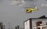 26 juli Traumahelikopter ingezet voor onwelwording Admiraal de Ruyterstraat Schiedam