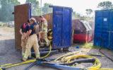 29 augustus Opnieuw containers in brand Zwanensingel Vlaardingen