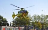 25 september Traumahelikopter vliegt uit voor medische noodsituatie Datheenstraat Vlaardingen