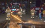 25 september Brandweer blust brandend tapijt op parkeerplaats Broekweg Vlaardingen