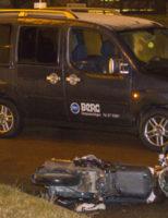 13 februari Scooterrijder gewond bij aanrijding Schiedamsedijk Vlaardingen