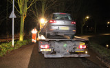 4 februari Auto rijdt tegen boom aan Zuidbuurt Vlaardingen
