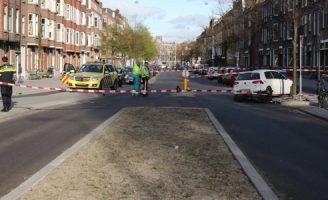 10 april Motorrijder gewond bij aanrijding Beukelsweg Rotterdam