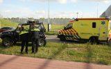 27 april Auto slaat over de kop na afbreken achteras Laan van Bol's Schiedam