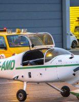 22 mei Hulpdiensten rukken uit voor vliegtuigje met problemen Vliegveld Rotterdam The Haque Airport