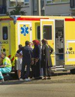 19 juni Moeder en drie kinderen aangereden, bestuurder ervandoor Nieuwe Damlaan Schiedam