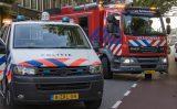 26 juni Brand op balkon van woning Lange Nieuwstraat Schiedam