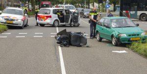 27 juli Vrouw in scootmobiel gewond na aanrijding Burgemeester Heusdenlaan Vlaardingen