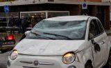 10 november Auto over de kop P.J. Troelstralaan Schiedam