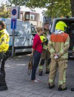 11 augustus Gaslek bij de Rabobank Zwaluwlaan Schiedam