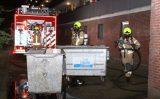 20 augustus Brand in containerruimte van flat Koninginnelaan Vlaardingen