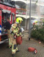 14 september Middelbrand door brand in container de Aar Rotterdam