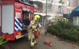 14 september Middelbrand door brand in container de Aar Rotterdam