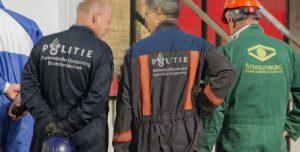 26 oktober Politie onderzoek na brand in hennepkwekerij Vlaardingweg Rotterdam