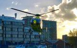 13 november Traumahelikopter ingezet voor medische noodsituatie Diepenbrockstraat Vlaardingen