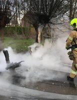 28 december Bankje in brand Lariksdreef Vlaardingen