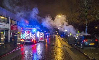 20 januari Geparkeerde auto uitgebrand Energieweg Vlaardingen