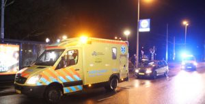 29 januari Fietser naar ziekenhuis na aanrijding Prinses Beatrixlaan Schiedam