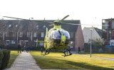 23 februari Traumahelikopter voor medische noodsituatie in woning Bernardus IJzerdraatsingel Schiedam