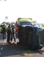 15 mei Auto crasht tegen boom Doenkade Rotterdam