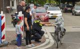 14 juni Moeder en kind met de schrik vrij Boerhaavelaan Schiedam