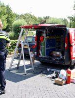 13 juli Brand in brandbeveiligingsbus Marnixlaan Vlaardingen