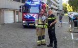 15 juli Brandweer inzet voor overijverige kookkunsten Holysingel Vlaardingen