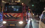 12 september Forse brand in bovenwoning Lange Nieuwstraat Schiedam