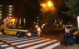 12 september Auto vliegt uit bocht en tegen lantaarnpaal Mozartlaan Schiedam
