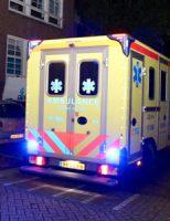 24 september Massale inzet hulpdiensten voor medische noodsituatie Prins Mauritstraat Schiedam