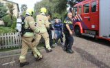 3 oktober Brandweer redt man uit woning tijdens flinke brand Meidoornlaan Schiedam
