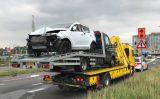 4 oktober Snijdende vrachtwagen zorgt voor ongeval Vijfsluizen Vlaardingen